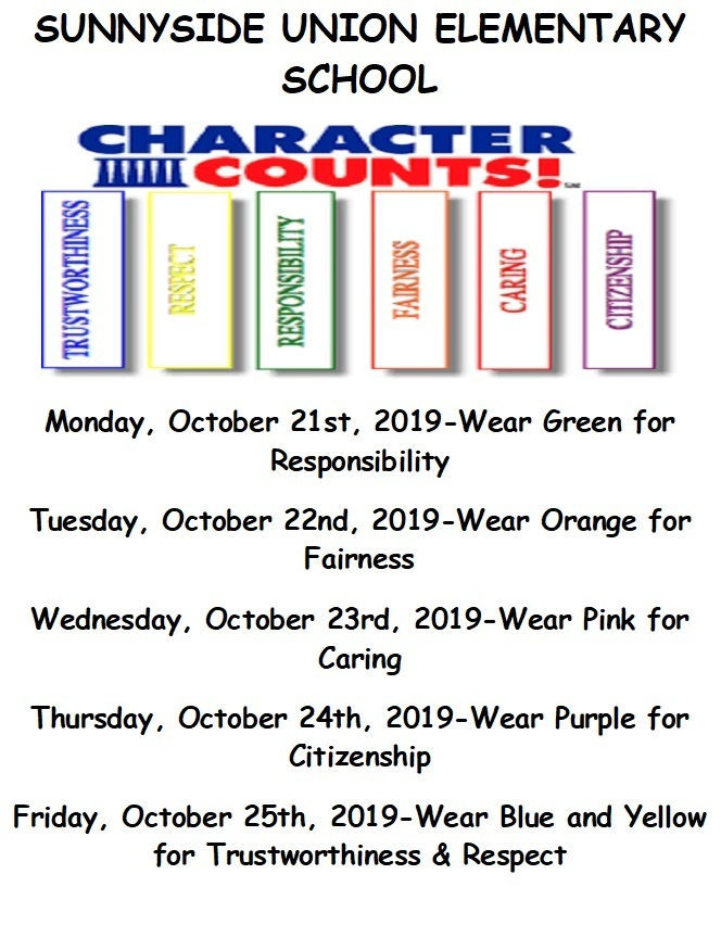Character Counts Week
